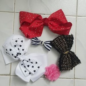 Five Baby Girl Bows